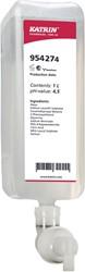Katrin zeepvulling voor dispenser, 1L, goed voor 2500 doseringen