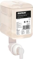 Katrin zeepvulling voor dispenser, 0,5L, goed voor 1250 doseringen