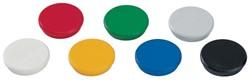 Dahle magneten diameter 32 mm, geassorteerde kleuren