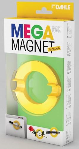 Dahle Mega Magnet Circle, Neodymium magneet, cirkelvormig, geel