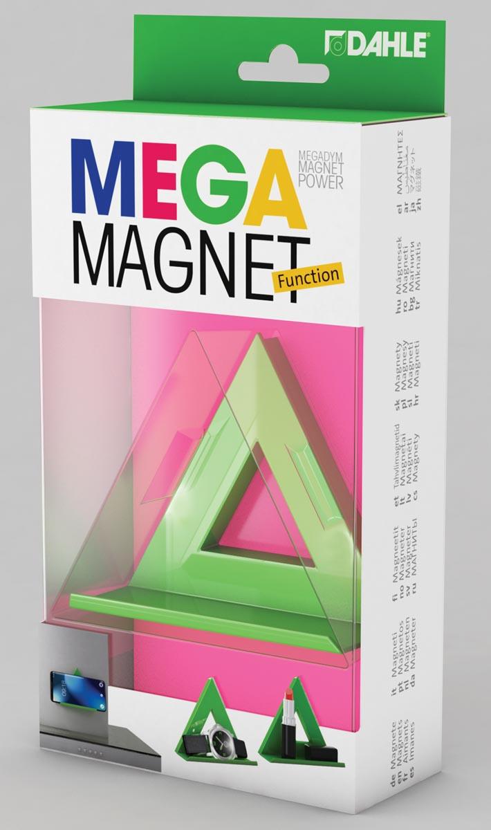 Dahle Mega Magnet Delta, Neodymium magneet, driehoekig, groen