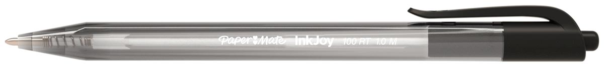 Balpen Papermate Inkjoy 100RT zwart medium