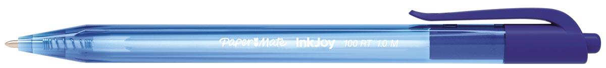 Paper Mate balpen InkJoy 100 RT blauw