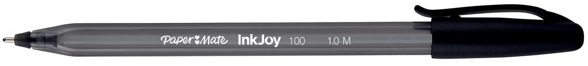 Balpen Papermate Inkjoy 100 zwart medium