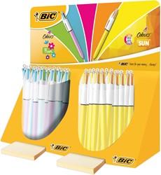 Bic 4 Colours Sun & fun, tubo van 40 stuks
