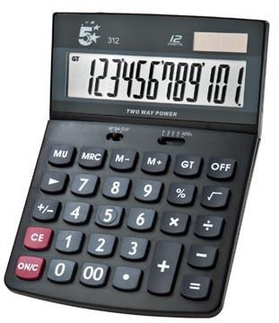 5 Star bureaurekenmachine KC-DX150