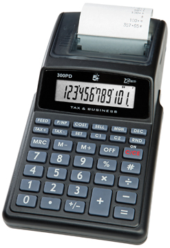 5 Star bureaurekenmachine 300PD