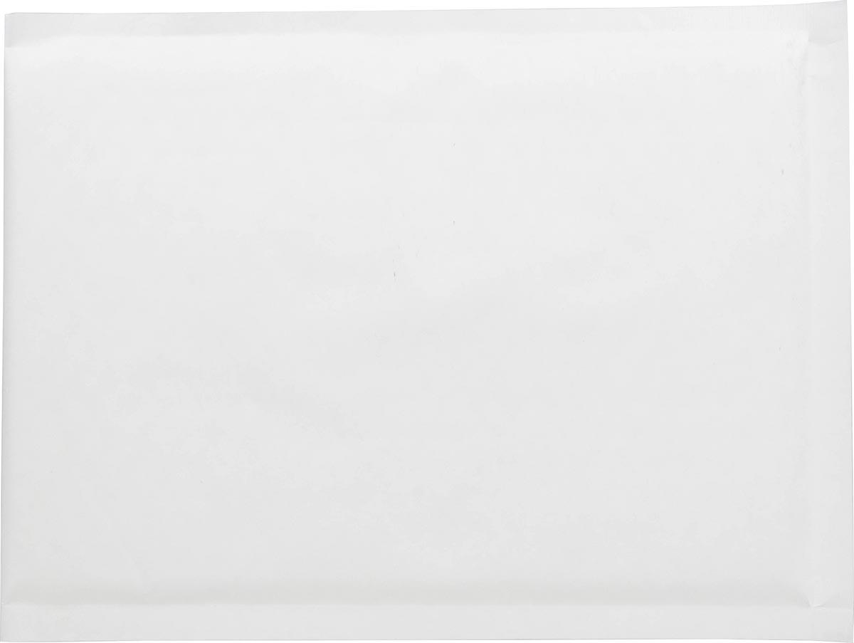 Pergamy kraft enveloppen met luchtbellen, ft 18 x 26 cm, wit, pak van 100