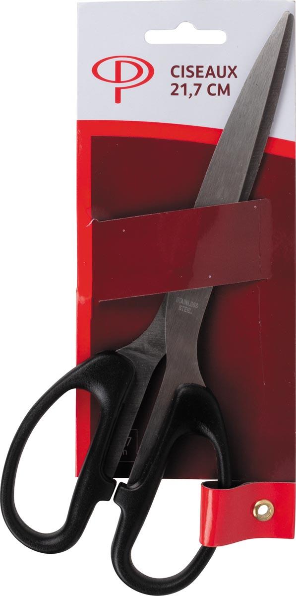 Pergamy schaar, ft 21,7 cm, polypropyleen handvat, zwart