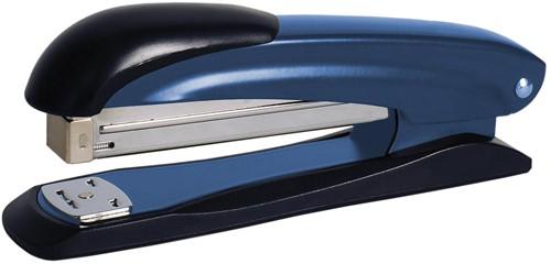 STAR nietmachine half strip, 20 blad, blauw
