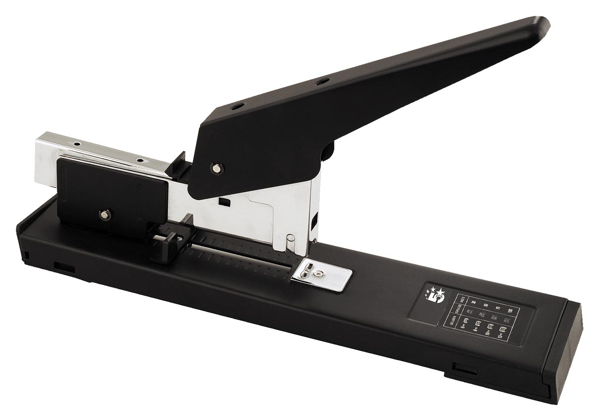 5 Star blokhechter Heavy Duty full strip, capaciteit: 100 blad