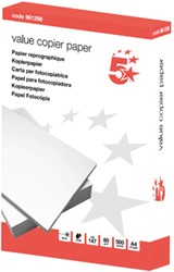 5 Star Value kopieerpapier ft A4, 80 g, pak van 500 vel