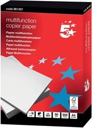 5 Star multifunction kopieerpapier ft A4, 80 g, pak van 500 vel