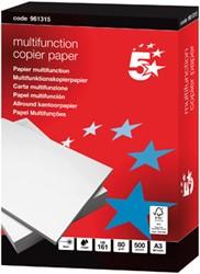 5 Star multifunction kopieerpapier A3, 80 g, pak van 500 vel