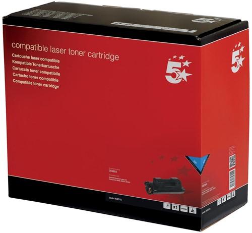 5 Star toner zwart, 24000 pagina's voor HP 90X - OEM: CE390X