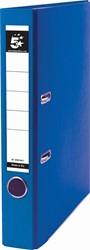 5 Star ordner, ft A4, rug van 5 cm, uit PP en papier, blauw