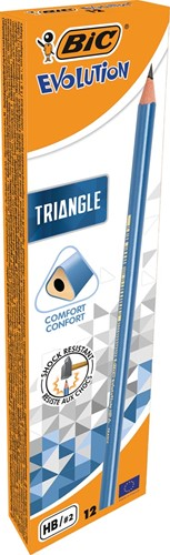 Bic crayon Evolution Triangle-2