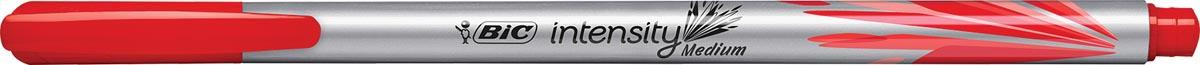 Bic fineliner Intensity, medium, rood