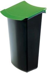 Han deksel voor papiermand Mondo, groen