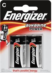Energizer batterijen Alkaline Power C, blister van 2 stuks