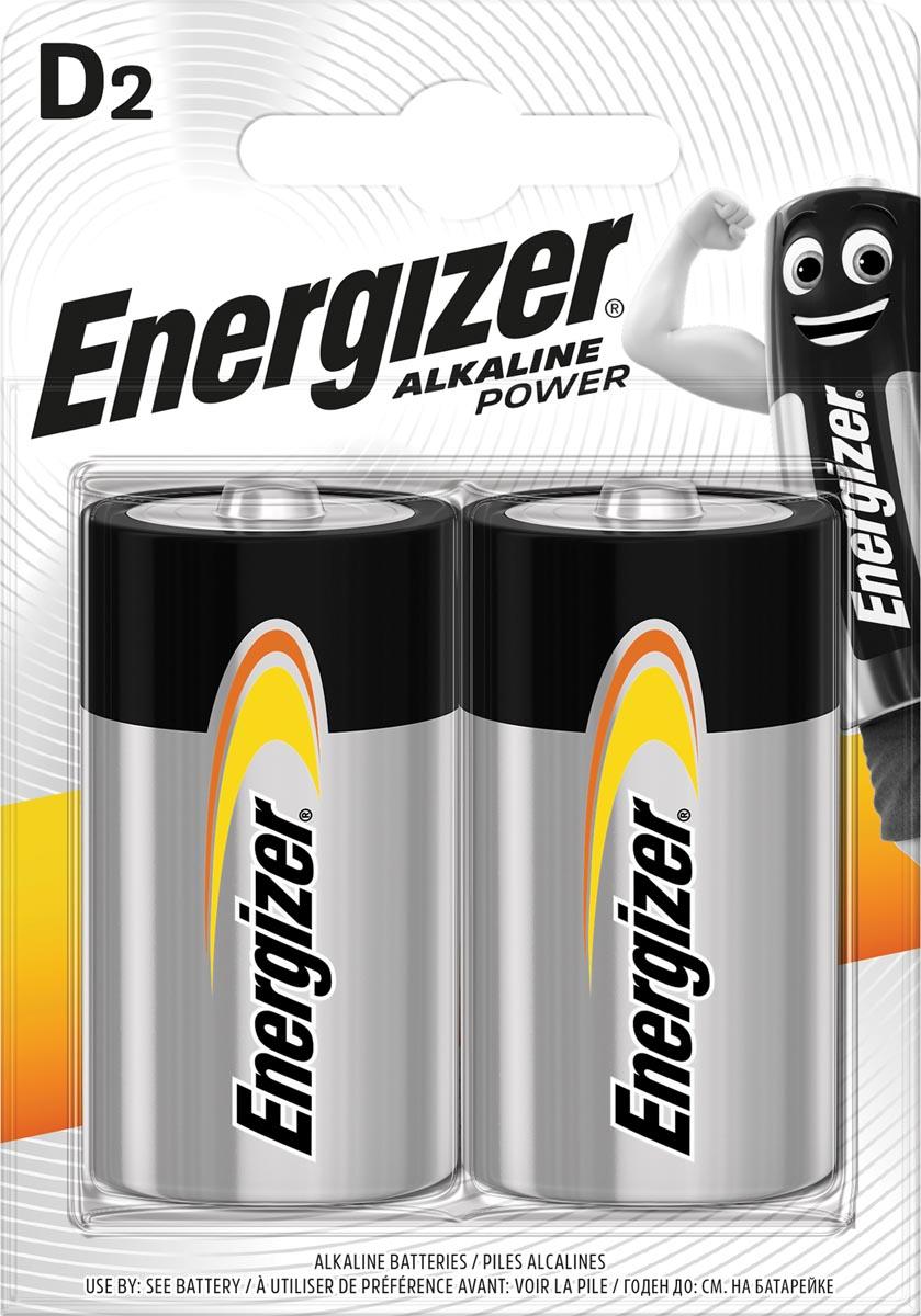 Energizer D (mono) Alkali-mangaan batterij 1.5 V 2 stuks