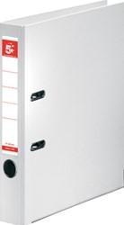 5 Star ordner, ft A4, rug van 50mm, volledig uit PP, wit