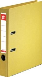 5 Star ordner, ft A4, rug van 50mm, volledig uit PP, geel