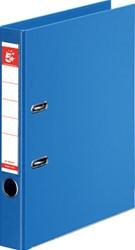 5 Star ordner, ft A4, rug van 50mm, volledig uit PP, lichtblauw