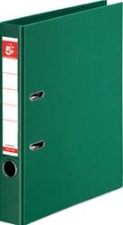 5 Star ordner, ft A4, rug van 50mm, volledig uit PP, groen