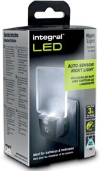 Integral oriëntatieverlichting met auto sensor
