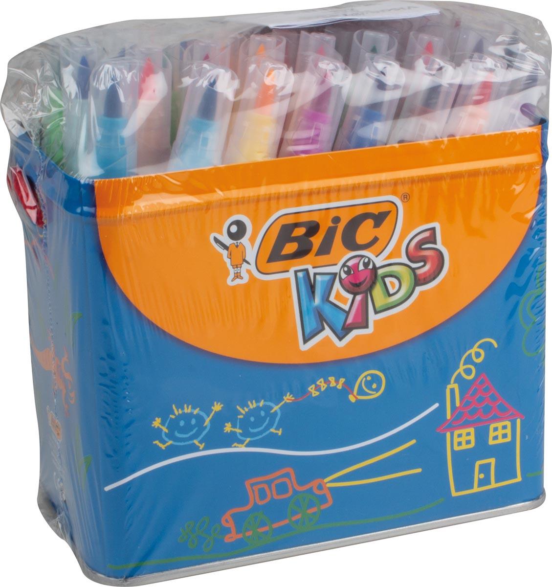 Bic Kids penseelstift Visaquarelle, etui van 48 stuks