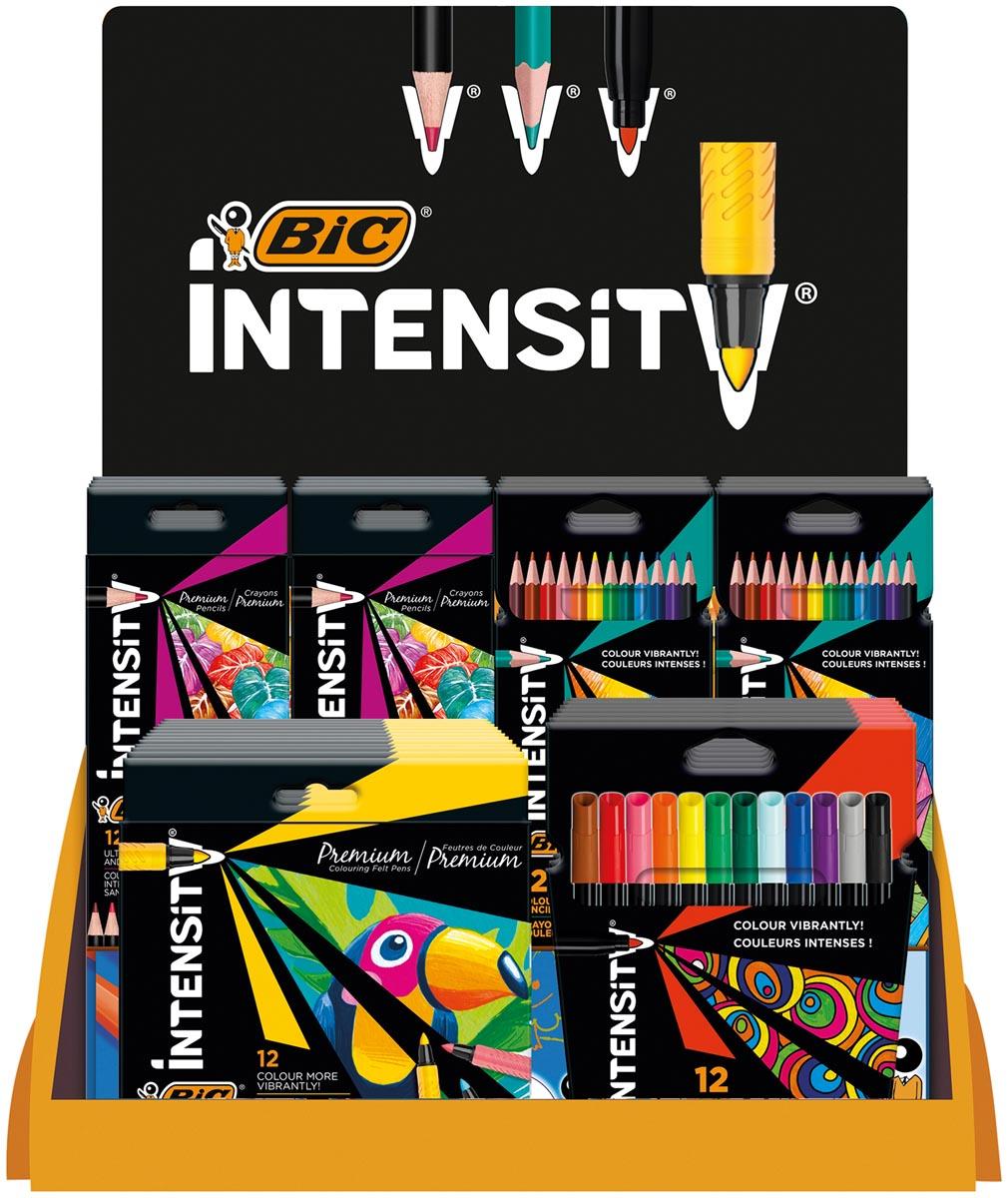 Bic Intensity Coloring, counterdisplay met 35 stuks