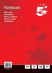 5 Star business notitieboek, ft A4, 200 bladzijden, 70 gram