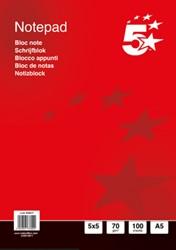 5 Star business notitieboek, ft A5+, 200 bladzijden, 70 gram