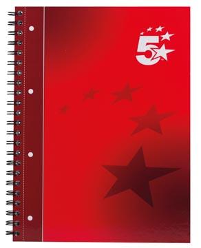 5 Star business spiraalblok, ft A4+, 160 bladzijden, 90 gram