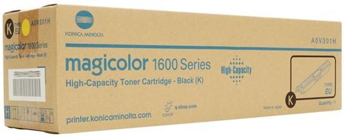 Minolta Toner zwart - 2500 pagina's - A0V301H