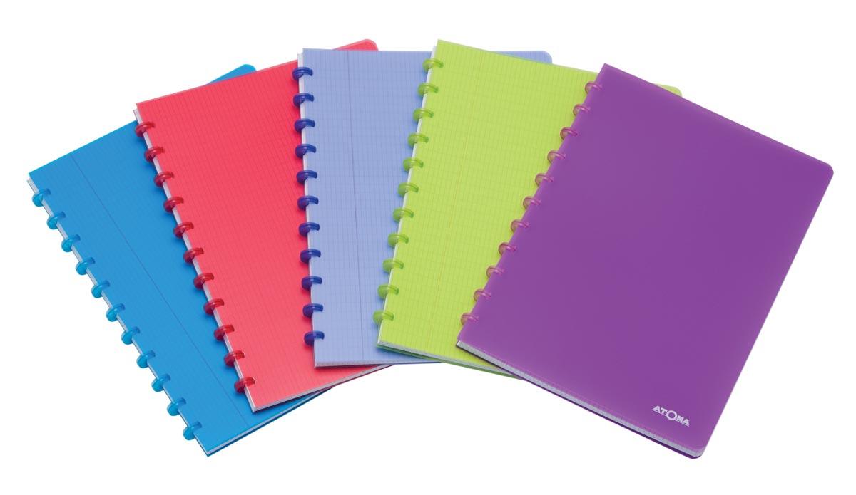 Atoma schrift Trendy ft A4, commercieel geruit, geassorteerde kleuren
