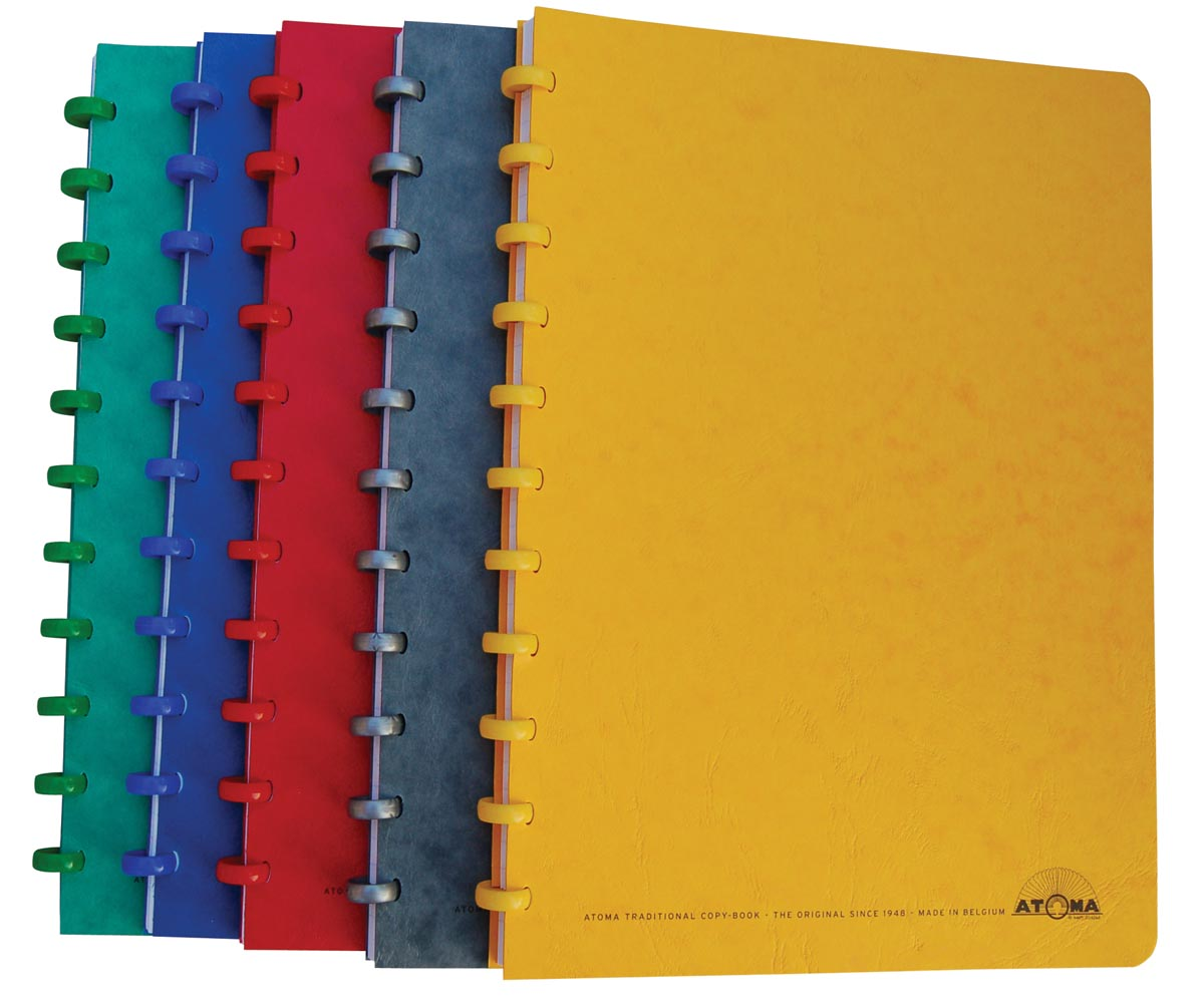 Atoma patroonschrift ft A4, 144 bladzijden, geruit 5 mm