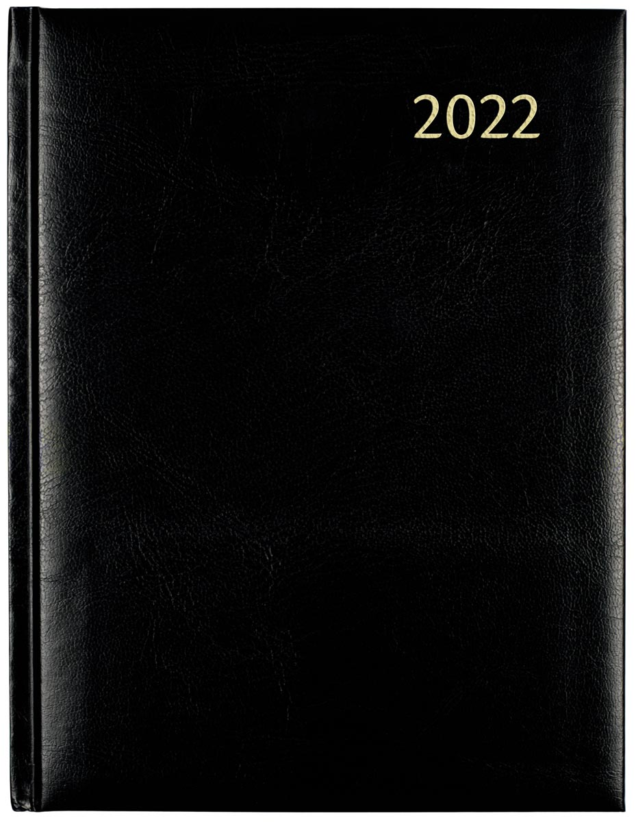 Aurora Plan-a-week 27 Florence, zwart 2022