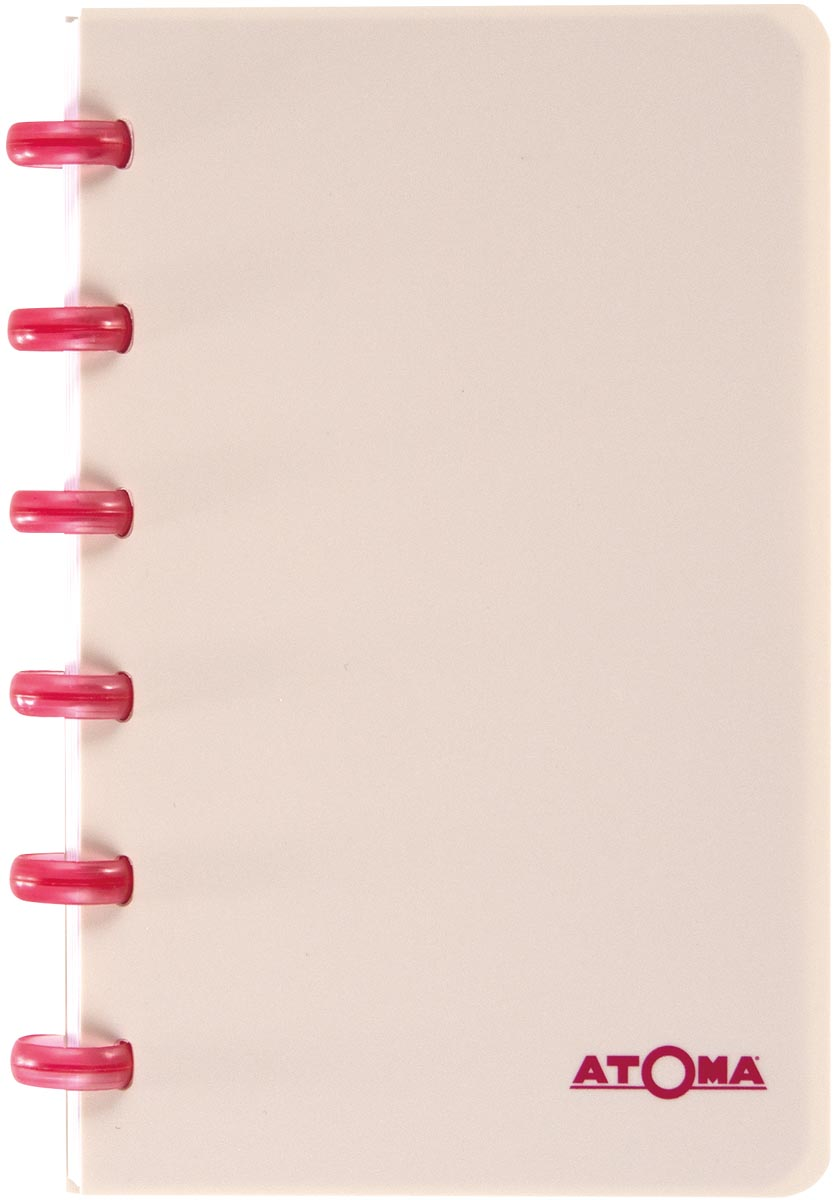 Atoma schrift Smooth ft A6, gelijnd, geassorteerde kleuren