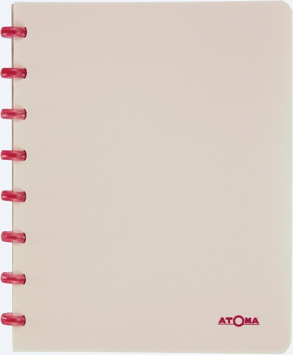 Atoma schrift Smooth ft A5, commercieel geruit, geassorteerde kleuren