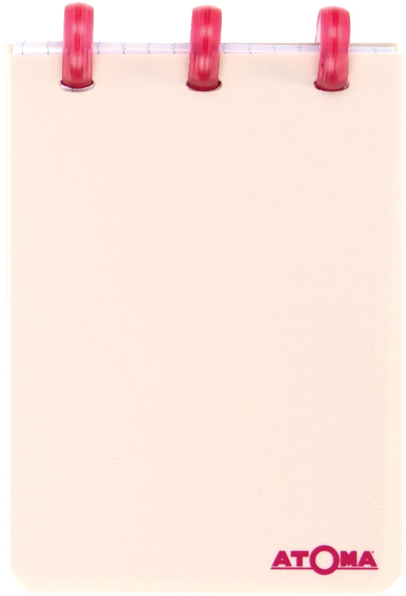 Atoma schrift Smooth ft A7, gelijnd, geassorteerde kleuren