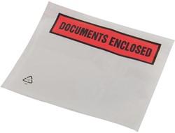 Tenzalopes zelfklevend documentenmapje ft A7, doos van 1000 stuks