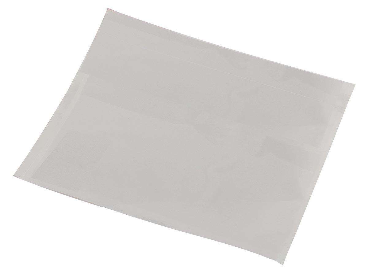 Tenzalopes zelfklevend documentenmapje ft A7, blanco, doos van 1000 stuks