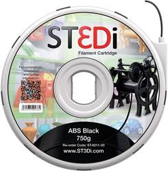 ST3Di 3D cartridge ABS 750G voor St3di printer, zwart