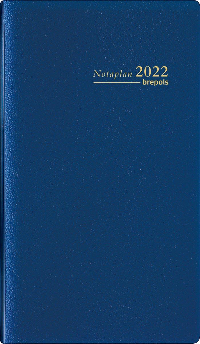 Brepols Notaplan Genova 6-talig, blauw, 2022