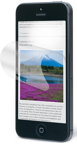 3M anti-glare filter voor Apple iPhone 5, 5s en 5c