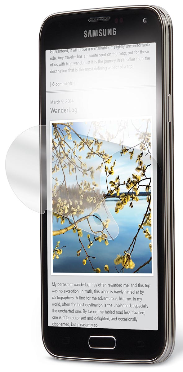 3M anti-glare filter voor Samsung Galaxy S5