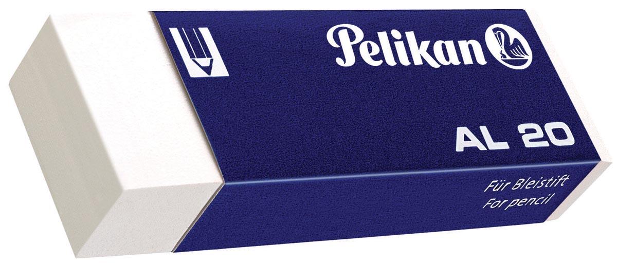 Pelikan witte potloodgom AL doos van 20 stuks