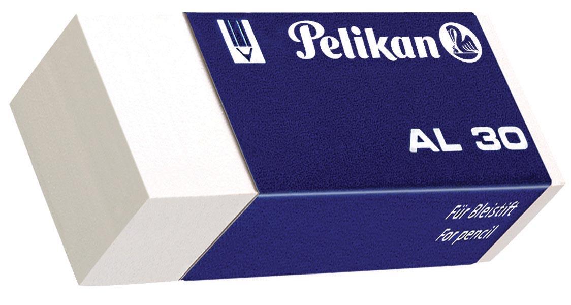 Pelikan witte potloodgom AL doos van 30 stuks